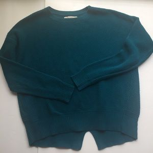 Loft Sweater Sz XS Jewel Toned Blue/Green Color